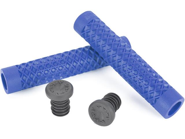 CULT Vans Waffle BMX Grips by ODI, blue